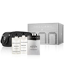 BVLGARI Men's 4-Pc. Man Extreme Gift Set