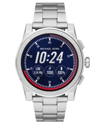 Michael Kors Access Grayson Stainless Steel Bracelet Touchscreen Smart  Watches