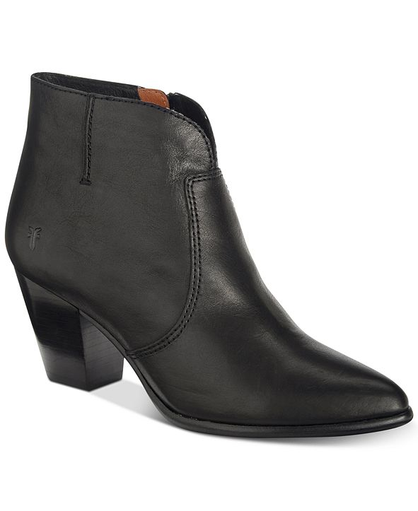 Frye Women's Jennifer Ankle Leather Booties , Created for Macy's