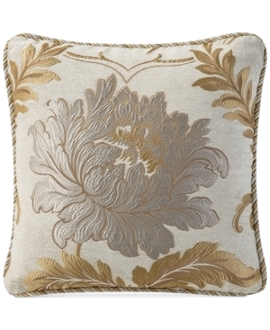"Image of Waterford Ansonia 18"" Square Decorative Pillow Bedding"