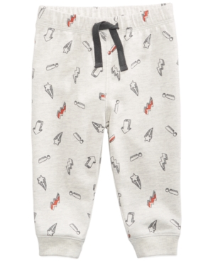 First Impressions Printed Jogger Pants Baby Boys (024 months) Created for Macys
