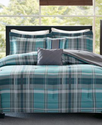 Harold Reversible 4-Pc. Twin/Twin XL Comforter Set