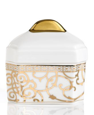 Athena Gold Sugar Bowl