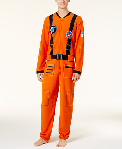 Bioworld Men's Astronaut Onesie Costume