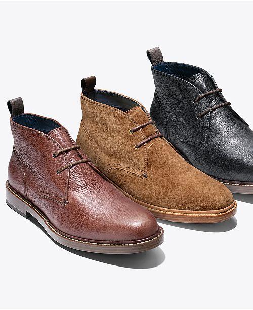 41dec40e27e Cole Haan Men's Adams Grand Chukka Boots & Reviews - All Men's Shoes ...