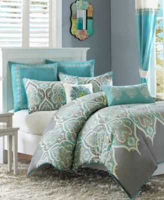 Nisha Cotton Sateen 5-Pc. Twin Comforter Set
