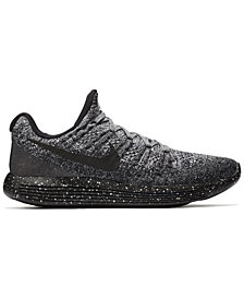 Nike Men's LunarEpic Low Flyknit 2 Running Sneakers from Finish Line