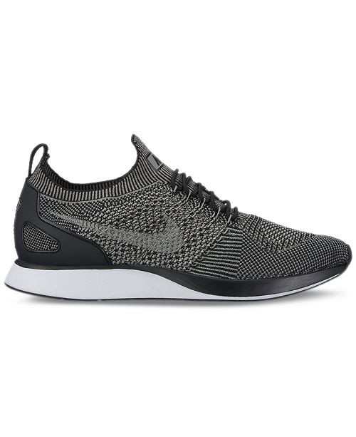 ... Nike Men s Air Zoom Mariah Flyknit Racer Running Sneakers from Finish  ... 5b1b4bb8e1