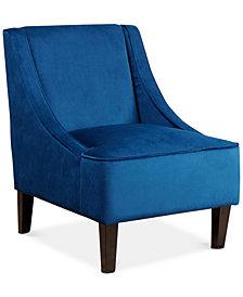 Boyce Swoop Club Chair, Quick Ship