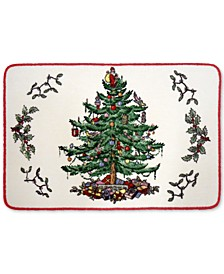 Christmas Tree Bath Rug