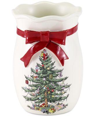 Spode Christmas Tree Tumbler