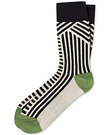 Pair of Thieves Men's Striped Crew Socks