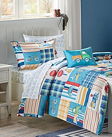 Choo Choo Charlie 8-Pc. Reversible Full Comforter Set