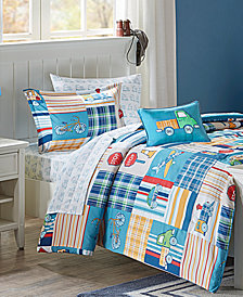 Mi Zone Kids Choo Choo Charlie 8-Pc. Reversible Comforter Sets