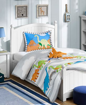 Dinosaur Dreams 3-Pc. Reversible Twin Comforter Set