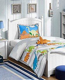 Dinosaur Dreams 4-Pc. Reversible Bedding Collection