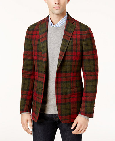 Men's Tartan Coats Channel your inner punk this season and treat yourself to a tartan coat. Made famous on the Alexander McQueen catwalk, tartan styles have been popping up by Thom Browne, Brian Dales, Fred Perry and more (just look to Lenny Kravitz working the trend on the red carpet).