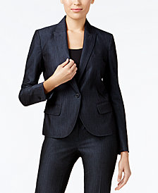 Anne Klein Denim Blazer
