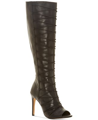 Vince Camuto Signature Leather Over-The-Knee Boots