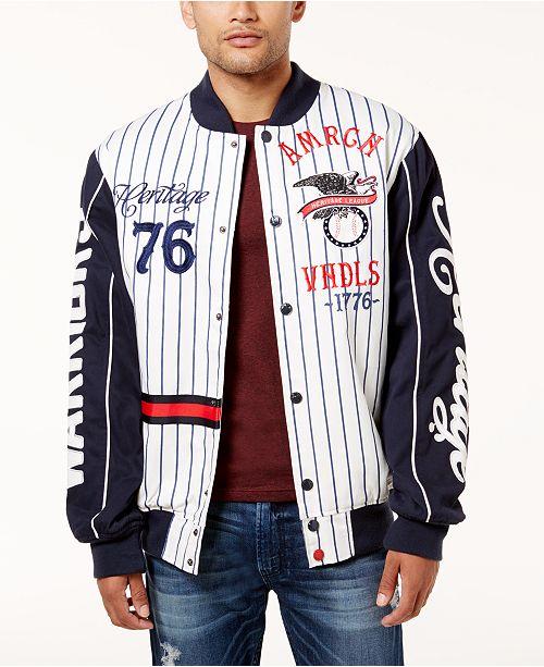 6ff77f9e9e Heritage America Men s Baseball Jacket  Heritage America Men s Baseball  Jacket ...