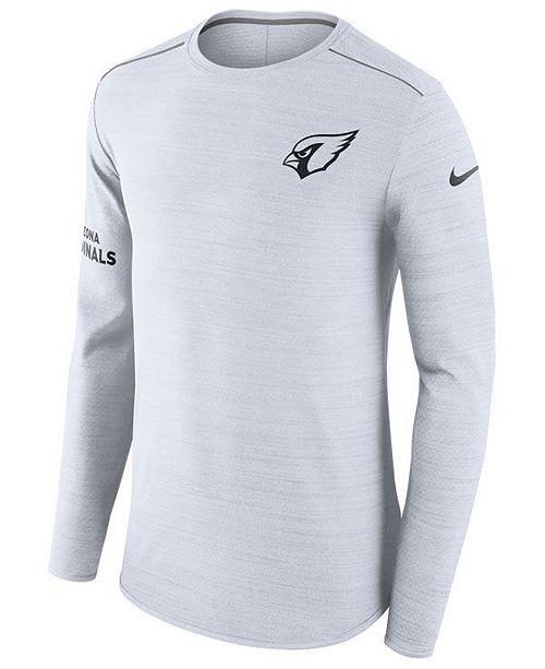 pretty nice f7504 85951 Nike Men's Arizona Cardinals Color Rush Player Top Long ...