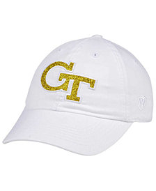 Top of the World Women's Georgia-Tech White Glimmer Cap