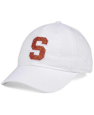 Top of the World Women's Syracuse Orange White Glimmer Cap