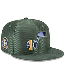 New Era Utah Jazz On Court Reverse 9FIFTY Snapback Cap