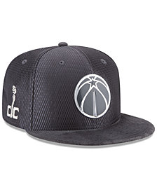 New Era Washington Wizards On-Court Graphite Collection 9FIFTY Snapback Cap