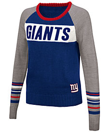 Touch By Alyssa Milano Women's New York Giants Team Spirit Sweater