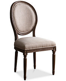 Gabriella Round Back Dining Chair, Quick Ship