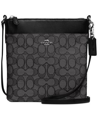 COACH Courier Crossbody in Signature Fabric