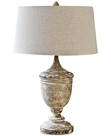 Regina Andrew Design Gesso Vase Table Lamp