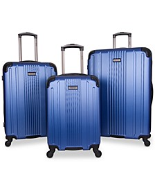 CLOSEOUT! South Street 3-Pc. Hardside Luggage Set, Created for Macy's