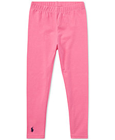 Ralph Lauren Little Girls Pony Leggings