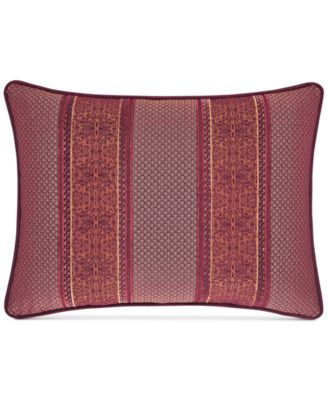 "Ellington Red 15"" x 21"" Boudoir Decorative Pillow"