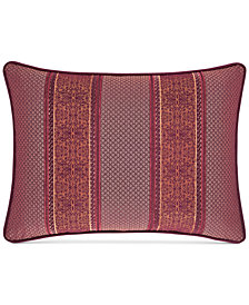 "J Queen New York Ellington Red 15"" x 21"" Boudoir Decorative Pillow"