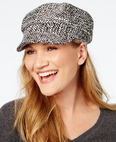 August Hats Chic Shimmer Newsboy Cap