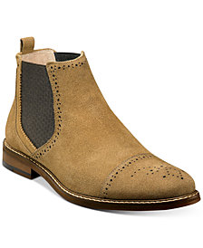 Stacy Adams Men's Abner Cap-Toe Chelsea Boots