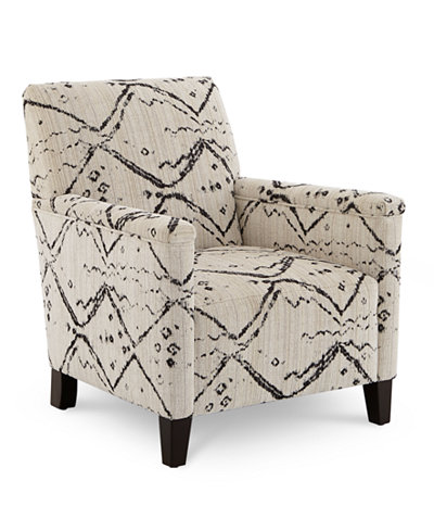 CLOSEOUT! Brittna Fabric Accent Chair, Created for Macy's