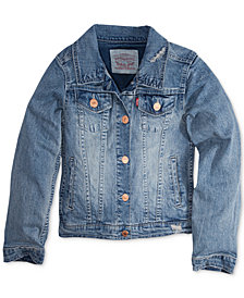 Levi's® Distressed Denim Jacket, Big Girls (7-16)
