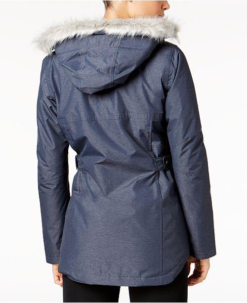 5e2f28591c0 Columbia Penns Creek™ Faux-Fur-Trimmed Jacket   Reviews - Jackets ...