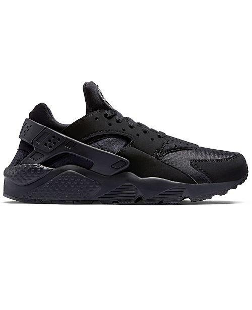 Nike Men s Air Huarache Run Running Sneakers from Finish Line ... 612f1ff9205