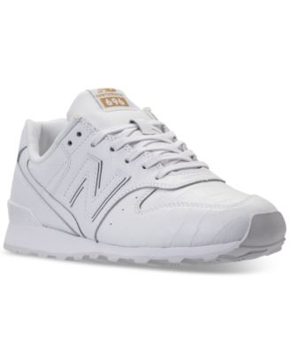 New Balance Women\u0027s 696 Leather Casual Sneakers from Finish Line
