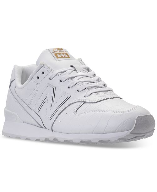8e0893c64407 New Balance Women s 696 Leather Casual Sneakers from Finish Line ...
