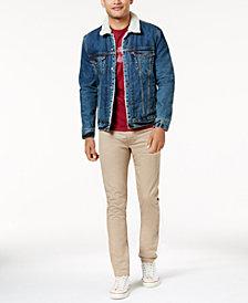 Levi's® Men's Sherpa Trucker, Slim Taper Jeans & Batwing T-Shirt