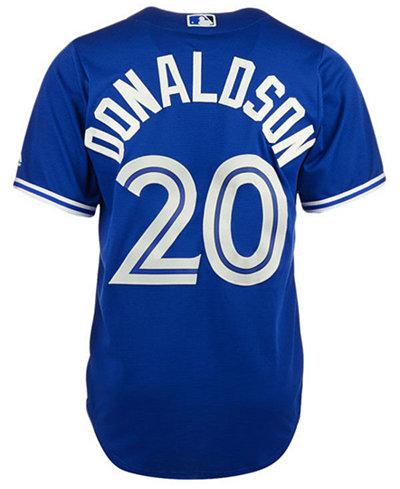 7aedd28e1 ... switzerland majestic mens josh donaldson toronto blue jays player  replica cool base jersey b6d8f 71951