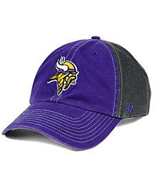 '47 Brand Minnesota Vikings Transistor CLEAN UP Cap