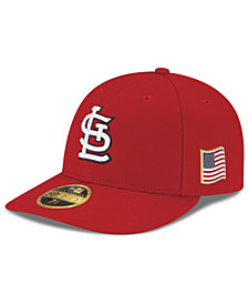New Era St. Louis Cardinals Authentic Collection Low Profile 9-11 Patch 59FIFTY Fitted Cap