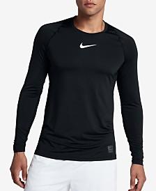 Nike Men's Pro Fitted Long Sleeve Training Shirt